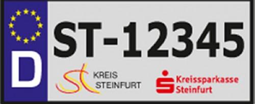 Fahrradkennzeichen