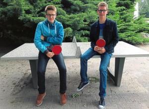 Foto Tischtennisplatte